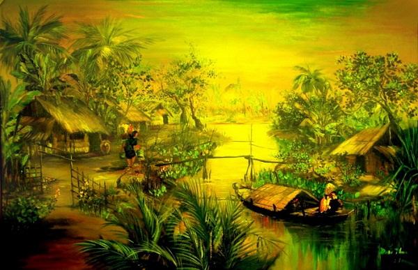 Ý nghĩa của vẽ tranh đề tài thiên nhiên