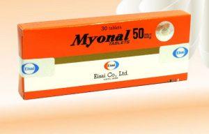 Thuốc myonal 50mg